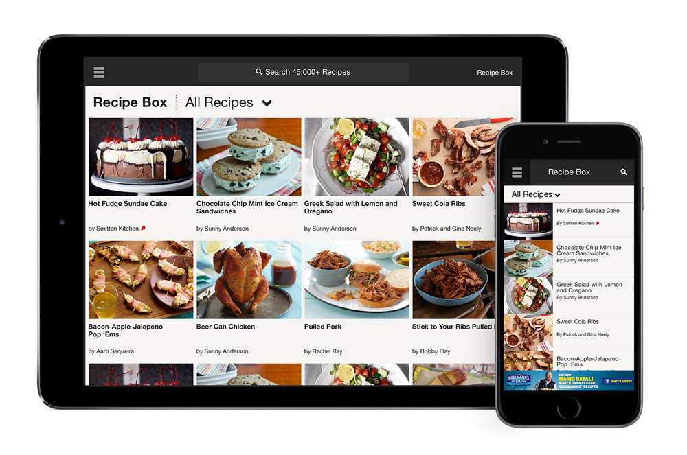 Diana kalemba visual designer in new york assisted lead mobile designer with refreshing the look of the iphone and ipad app to align with new food network branding continued to design updates to forumfinder Images